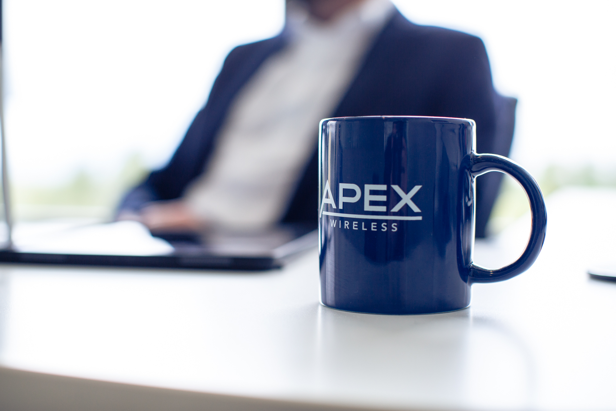 Apex Wireless Coffee mug, a Telus partner, authorized Telus Dealer