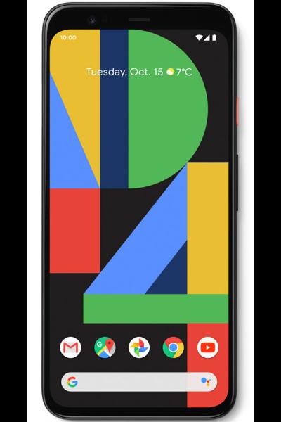pixel 4 smart phone